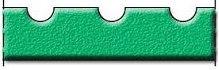 Клиновой профиль с зубчиками - чертеж